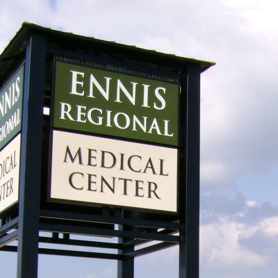 Example of an exterior signage