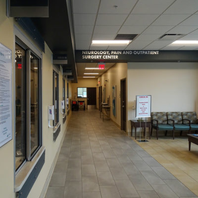 Interior signage wayfinding example